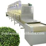 Green tea/black tea microwave drying sterilization equipment moisture <5%-