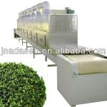 Green tea/black tea / ginger tea powder microwave drying sterilization equipment moisture <5%-