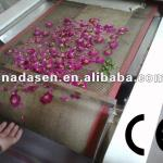 continuous red rose flower dryer dry machine-