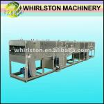 automatic continuous spraying bottle juice sterilizer-