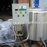 300L vertical milk cooling tank fresh milk cooling tank with direct expansion-