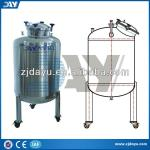 Vertical type stainless steel hot water/milk/chemical storage tanks price-