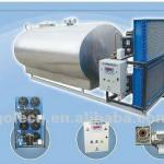 Dairy milk tank,horizontal cooling machinery-