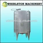 whirlston stainless steel single layer rabbling tank for beverage
