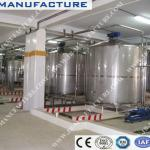stainless steel water storage tanks