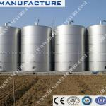 vertical stainless steel storage tank