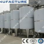 stainless steel jacketed tanks-