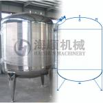 Dish Top and bottom storage Tank(CE certificate)-