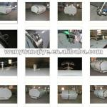 stainless steel storage tank with thermal insulation layer used for fresh milk transportation