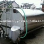 2000L Milk cooling milk tank with automatic CIP cleaning system-