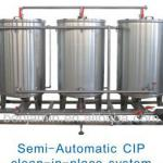 semi-automatic/automatic CIP washing machine/systemm-