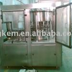 Automatic glass bottle hot fruit juice filler machine-