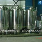CIP high automatic pet bottles cleaning machine in water treatment-
