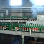 recycle glass bottle cleaning facility-