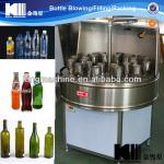 Semi-automatic bottle washer-