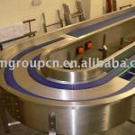 steel mesh food belt conveyor-