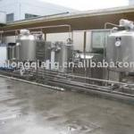 Small Milk processing line-