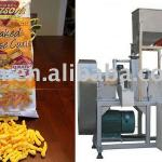 cheese curl process machine-