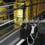 Linear type edible cooking oil filling machine-