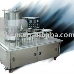 Automatic Plastic and paper Juice filling equipment-