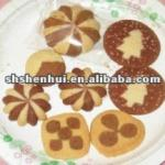 SH-100 Automatic Chocolate filled cookie Machine-