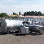 second hand milk cooling tanks