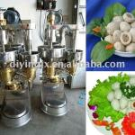 fishball making machine with stuff in center-
