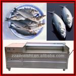 Fish scale removing machine Take of fish scales-