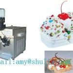 2013 hot selling soft ice cream machine with candy dispenser/ice cream machine-