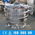 Food grade 304 stainless steel rotary vibratory filter sieve-