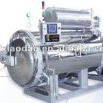 High efficient PLH spray hot water sterilizing autoclave for canning and bottle-