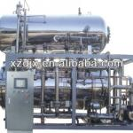 double layer tin can sterilizing machine-