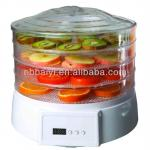 Round Food Dehydrator With Timer and Fan-