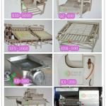Shrimp and crab food processing machine-