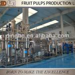 Concentrated fruit puree production line, puree machine-
