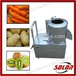 stainless steel automatic potato peeling machine/vegetable washing and peeling machine-