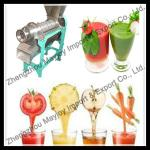 Full automatic screw vegetables fruit juice machine-