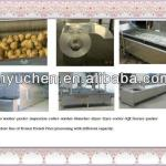Potato chips processing production line-