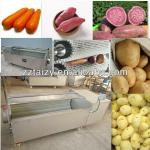 potato washing and peeling machine 0086-13838527397-