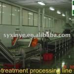 TX-I processing line for quick freezing-