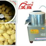 hot sale electric stainless steel automatic potato peeling machine (manufacture) for potato/carrot/cassava-