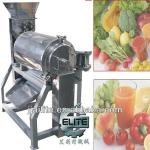 vegetables and fruit broken and beater-