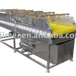 brush cleaning machine/ industrial fruit and vegetable washer-