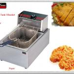2013 year New 1-tank 1-basket electric deep fryer (CE)-