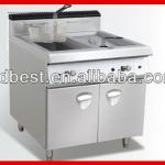 hotel commercial kitchen equipment of gas fryer machiner-