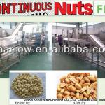 continuous nuts fryer-