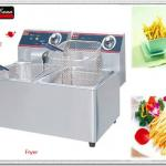 2013 year New 2-tank 2-basket electric fryer-