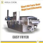 Continuous Breaded Food Fryer-