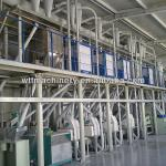 100TPD maize/corn flour mill-