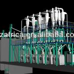 2T/H wheat flour mill, wheat process equipment of Turkey project and China big factory with low price-